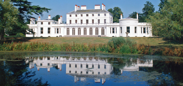 This is Frogmore House and Gardens. Beautiful isn't it?